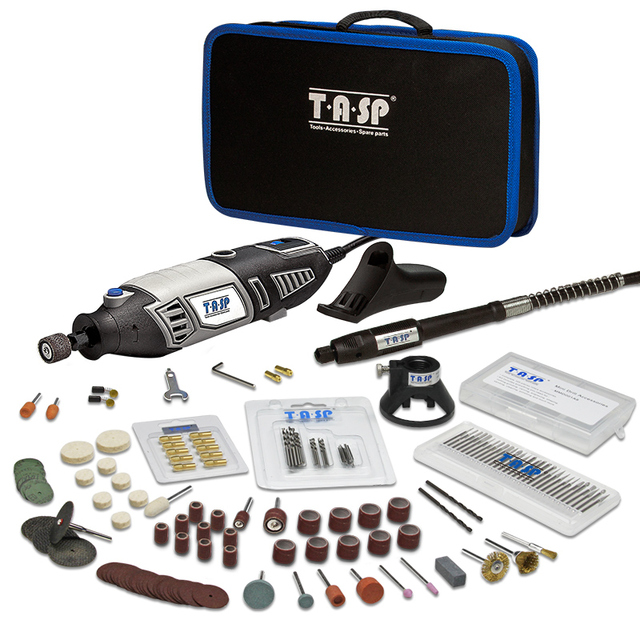 220V 170W Electric Mini Hand Drill Grinder Kit Dremel Style Drilling Engraving Polishing 175pc Tool Bag Accessories Set DIY