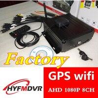 Gps WI FI удаленный мониторинг местоположения хост 8 канальный жесткий диск DVR H.264 1080 P с большим числом значений напряжения оборудование