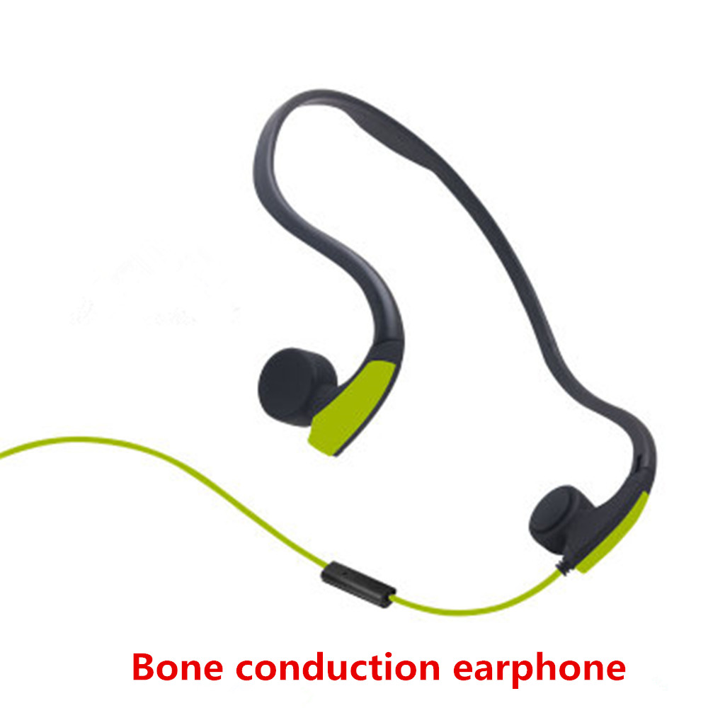 Bone Conduction Transmit Headsets Wired Earphone Outdoor Sports Headphones Noise Reducti ...