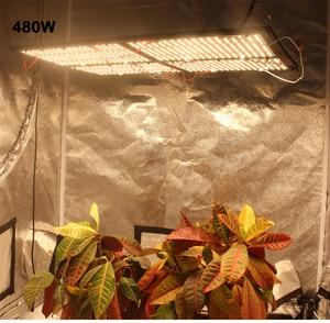 Image 4 - Yeni kuantum Samsung led kurulu QB288 büyümek işık dim 320W 480W LM301B chip MIX 660NM, kırmızı UV IR, 7 yıl garanti