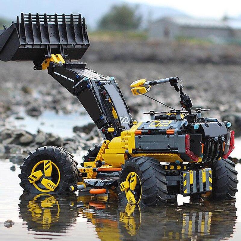 Technic Série Volvo Concept Chargeuse sur pneus ZEUX Blocs De Construction 1307 pièces Briques Compatibles Avec Legoings Technic