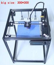 Ifancybox 3 xxl один extruderdiy corexy 3D Принтер Комплект Большие размеры линейный руководство алюминиевый Рамка двойной цвет Экструдер 3D принтер