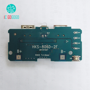 Image 3 - 5V 1A 2A Power Bank Charger Module Step Up Boost Power Supply Charging PCB Circuit Board DIY Dual USB Output LED Powerbank