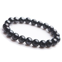 9mm Natural Sugilite Mens Bracelets Natural Stone Femme Blue Best Friend Bracelet For Men 2018 Natural Stone Bracelet Homme