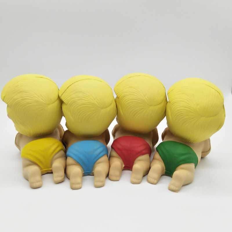 Давление Squeeze медленно PU отскок Новинка Забавные игрушки Трамп забавная игрушка Трамп телефон кулон веселый подарок