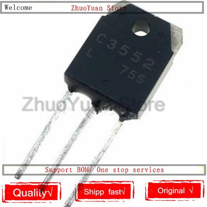 10PCS/lot 2SC3552 C3552 TO-3P 1100V 12A 150W TO3P Transistor