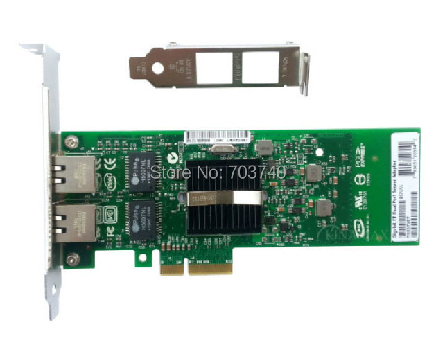 Intel 82576 EB E1G42ET PRO 1000M Dual Port PCI-E X4 Server Adapter Network Card