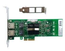 New Dual RJ45 Ports PCI-EX4 PRO10/100/1000M 82576EB E1G42ET Gigabit Network Server Adapter