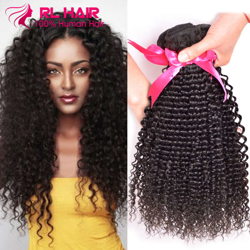 Hair Weaving: 7A Malaysian Kinky Curly Virgin Hair 4 Bundles Malaysian Curly Hair Afro Kinky Curly Malaysian Virgin Hair Human Hair Bundles