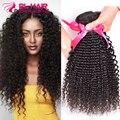 7A Malaysian Kinky Curly Virgin Hair 4 Bundles Malaysian Curly Hair Afro Kinky Curly Malaysian Virgin Hair Human Hair Bundles