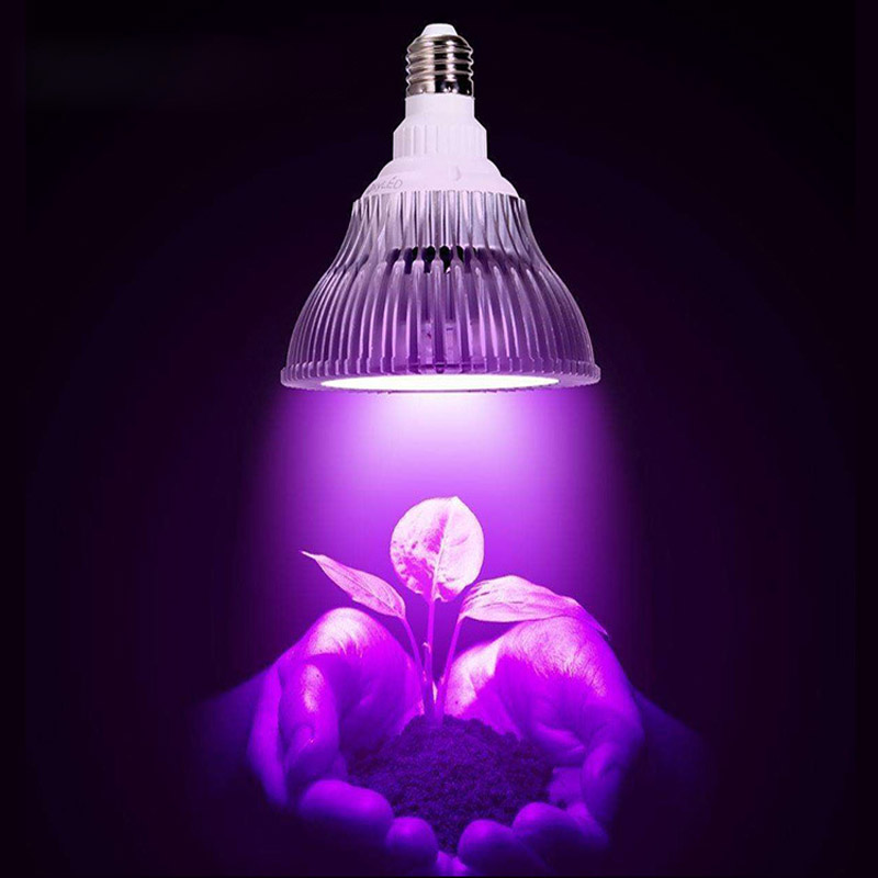 10 pcs / lot Led Cultivate LED Plant Light Cultivate Light E27 10W to 48W Plant Lamp for Indoor Flowering Hydroponics AE Light