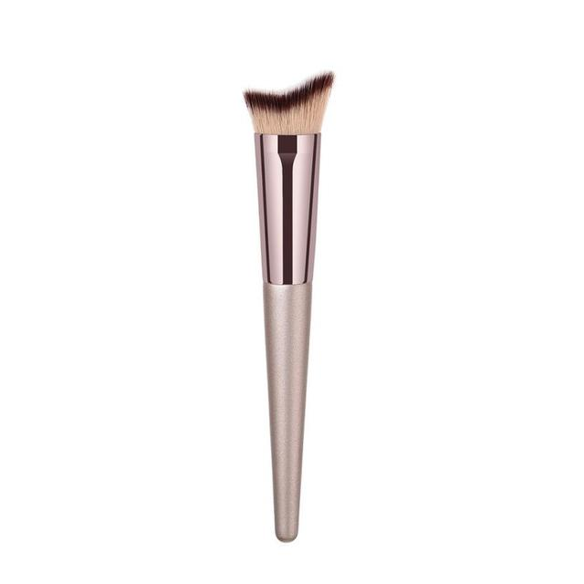 New Women's Fashion Brushes 1PC Wooden Foundation Cosmetic Eyebrow Eyeshadow Brush Makeup Brush Sets Tools 10