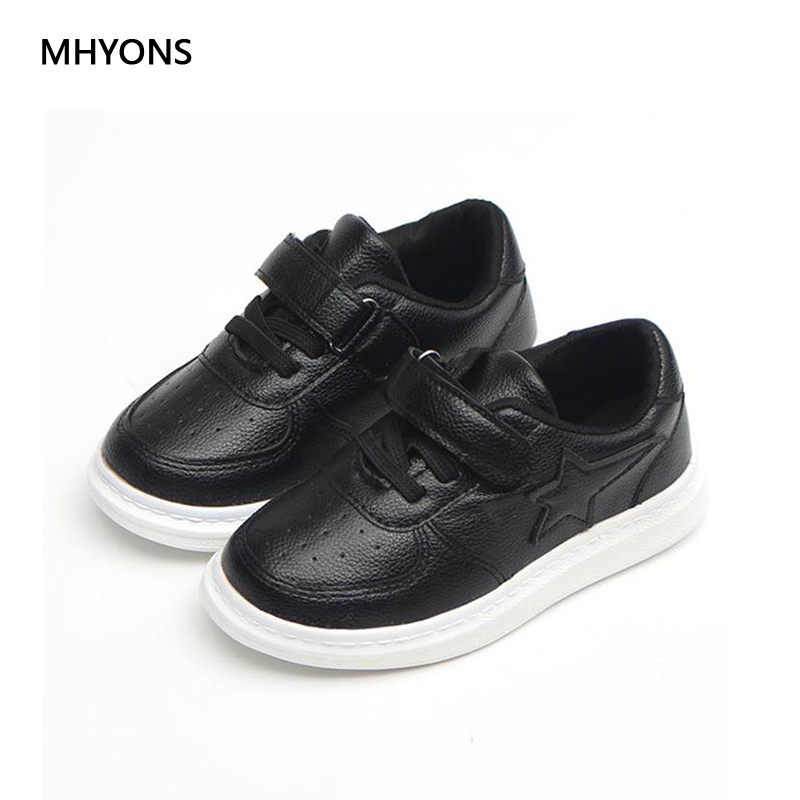 2018 New Spring Toddler Kids Casual Shoes Boys Pu Leather Comfy Sport Childrens Shoes Sneakers School Student Shoes for Boys ...