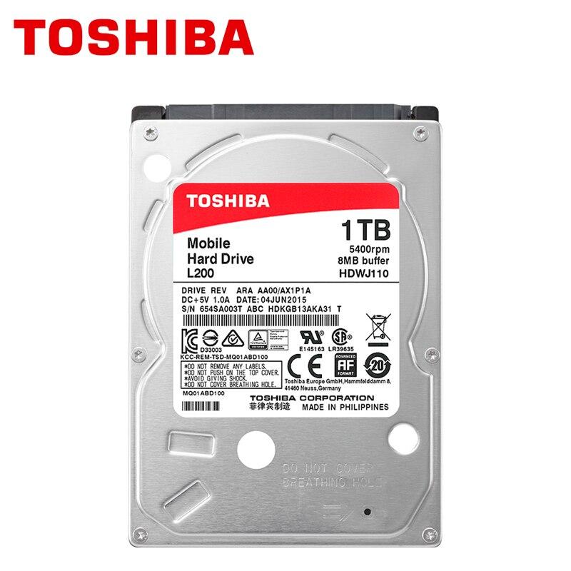 TOSHIBA Notebook 1TB Hard Drive Disk 1000GB 1000G Internal Laprop HDD HD 2.5 5400RPM 8M SATA3 Original New brand new 2 5inch hdd 1000gb 5400rpm 8m buff sata internal hard disk drive for laptop notebook maxdigital md1000gb sata 2 5inch