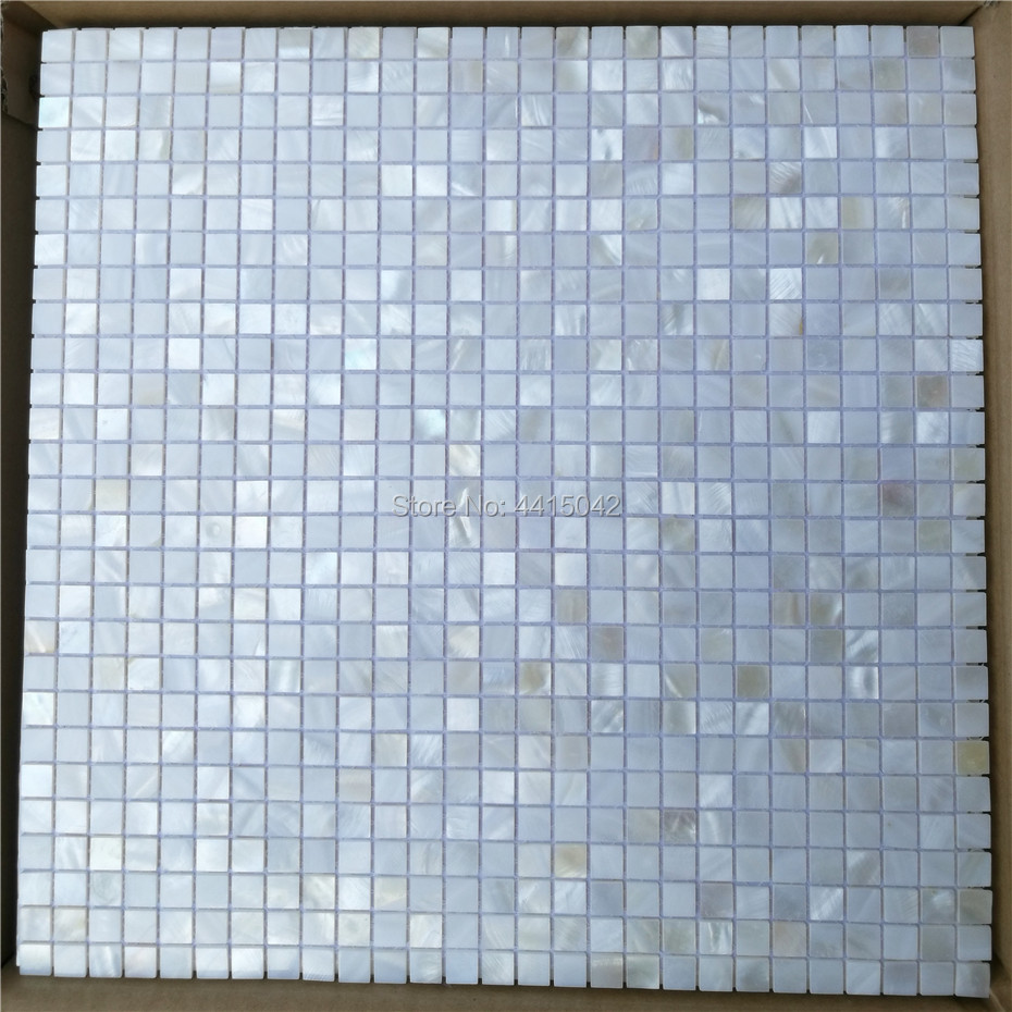 White mother of pearl mosaic tile for home decoration backsplash and ...