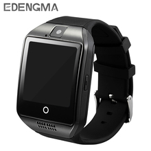 Smart Watch Q18 Support TF Card Passometer Camera SIM Card Call Smartwatch For Android Phone Better Than A1 DZ09 GT08