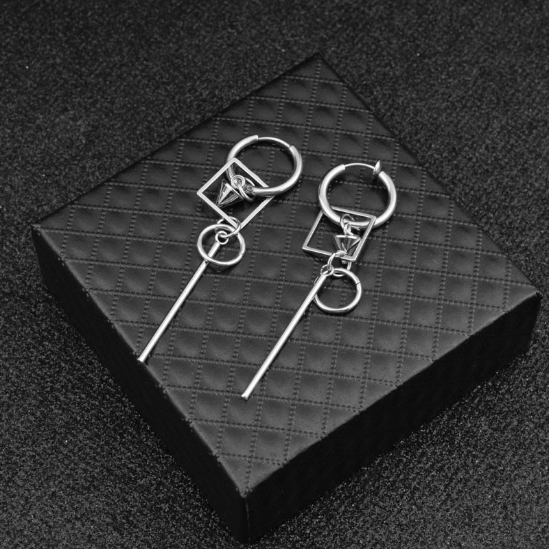 1 Pc Kpop Titan Stahl Tvxq Ohrringe Für Frauen Kim Jae Joong Gleichen Stil Platz Männer Schmuck 18745