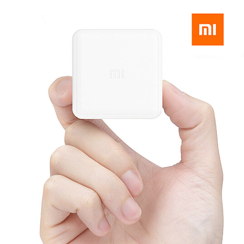 imágenes para Original xiaomi mi cubo controlador zigbee control de versiones by seis acciones con Aplicación de Teléfono para el Hogar Inteligente Dispositivo de TV Inteligente Socket