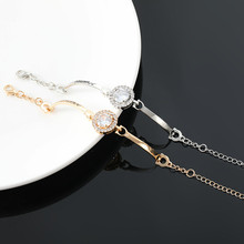New fashion ladies half bracelet chain hot gold / silver alloy to send girlfriend gifts female p