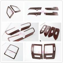 цена на For Toyota Land Cruiser 150 Prado LC150 FJ150 2010-2017 Interior Wood Cover Trim Panel Package Car Styling Accessories