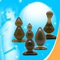 Leten (4 Шт./лот) Начинающих Водонепроницаемые Анальные Игрушки Butt Plug Пробка Набор, Продукты Секса для взрослых Секс-Игрушки