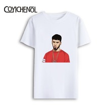 Anuel Aa large size customize print tshirt men oversized tee regular casual tops 7XL modal short sleeves