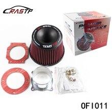 Apexi универсальный автомобильный воздушный фильтр 75 мм двойной воронки адаптер воздухоочиститель Защитите ваш поршень OFI011
