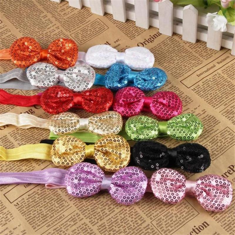 2017 fashion style decorations flowers satin new born headband souvenir for kids princess hair clip accessoire coiffure #15