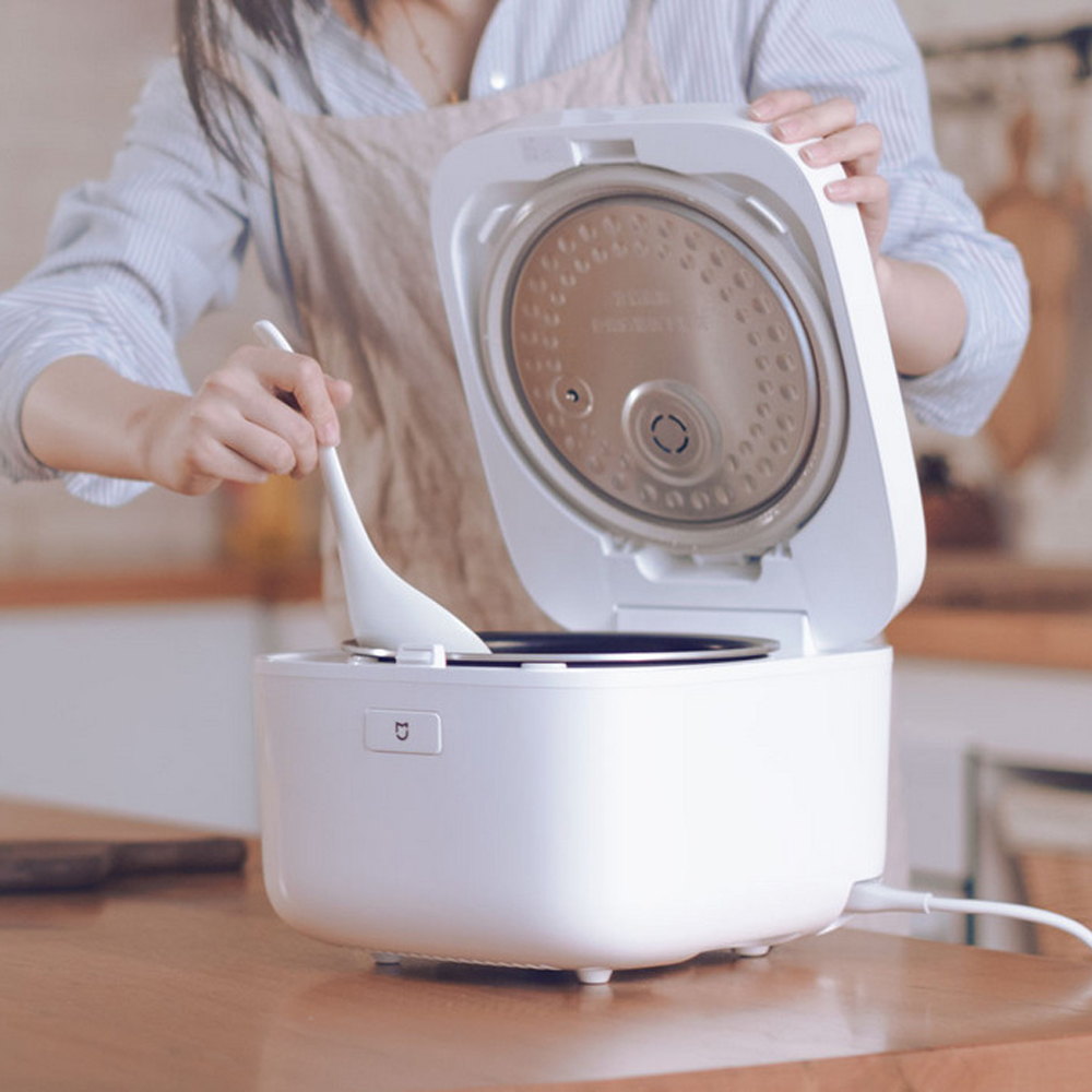 Xiaomi Mijia Mi IH Smart Electric Rice Cooker 3L Alloy Cast Iron IH Heating Pressure Cooker APP Remote Control Home Appliances плиткорез baumaster si 9806ux