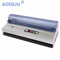 ShineYe 220V/110V Household Food Vacuum Sealer Packaging Machine Film Sealer Vacuum Packer Including Bags Kit DZ 320