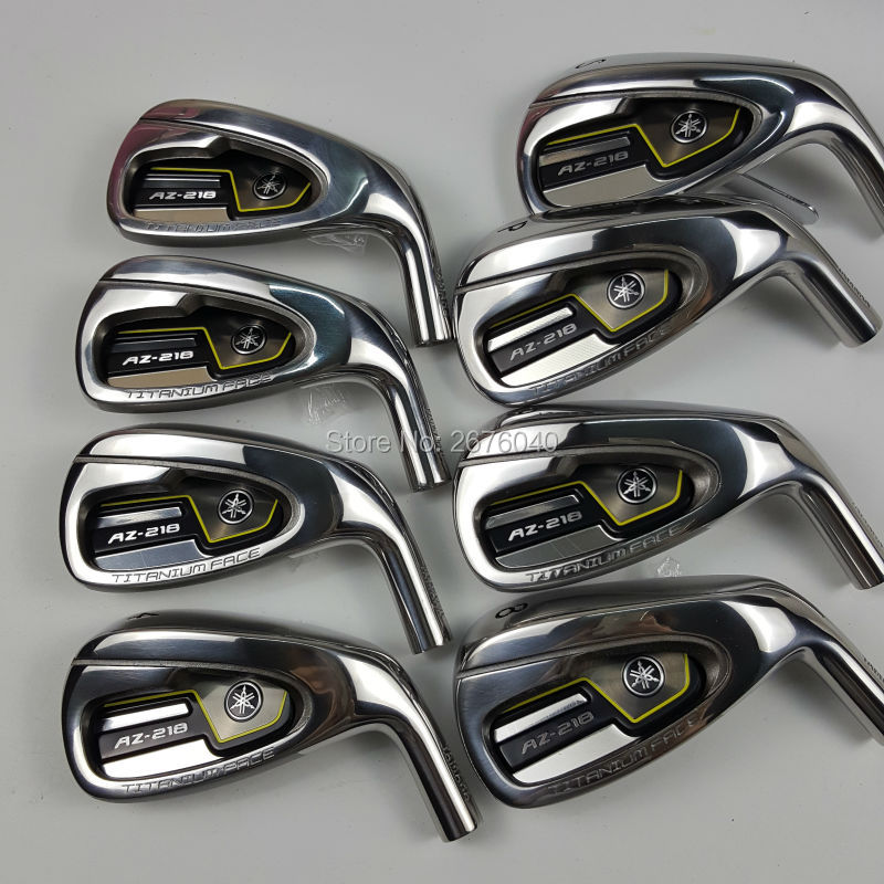 golf clubs  AZ-218 irons set 4-9p s.Graphite Golf shaft R or S flex Free shipping simulation mini golf course display toy set with golf club ball flag