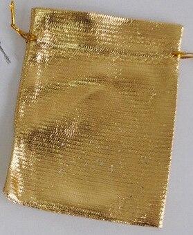 Online Shop 50Pcslot 79cm912cm Jewelry Bag Gold Silver Red