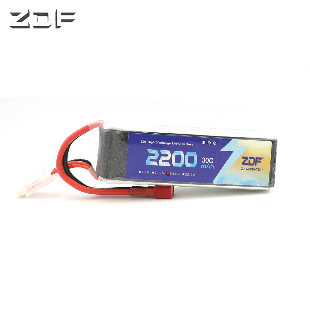 ZDF LION POWER batteries 4s <font><b>14.8V</b></font> <font><b>2200Mah</b></font> 30C Max 60C Li-Battery 4s for Halicopters Cars Boats quadcopters 4s battery image