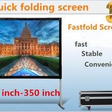 Jingke проекционный экран 92 дюймов 16:9 быстро ширма проекционный экран быстро раза