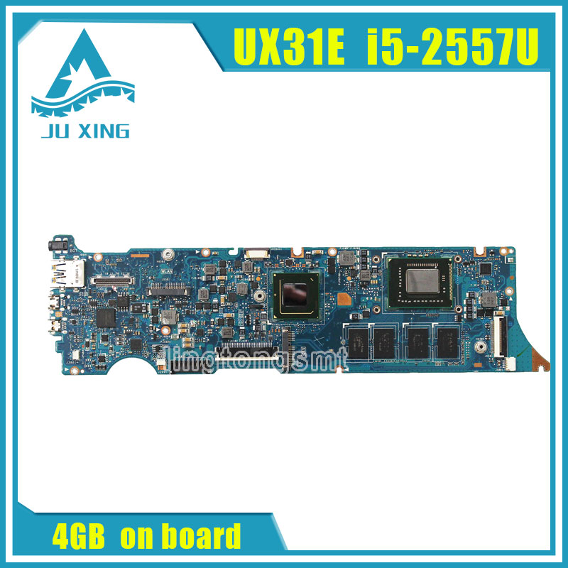For ASUS ZenBook UX31E motherboard UX31E REV3 2 Mainboard Processor i5 2557u 4G Memory on board