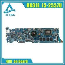 Für ASUS ZenBook UX31E motherboard UX31E REV3.2 Mainboard Prozessor i5-2557u 4G Speicher an bord 100% getestet