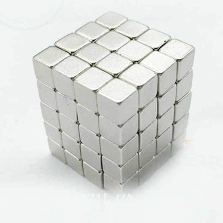 Zion 10 20 50pcs 5x5x5mm super strong magnet N35 cuboid block rare earth NdFeB magnet 5 5 5mm permanent magnet 5mmx5mmx5mm in Magnetic Materials from Home Improvement