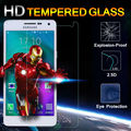 2015 NEW  9H 0.26MM explosion proof tempered glass screen protector for samsung galaxy S6 S5 S4 S3 note 5 Note 4 Note 3 Note 2