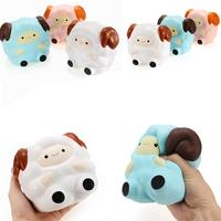 13 5CM Cute Squishy Sheep Scented Slow Rising Stress Relief Squeeze Toy