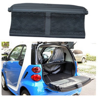 For Smart fortwo 2009 2010 2011 2012 2013 2014 Rear Trunk Cargo Cover Security Shield Screen shade High Qualit Car Accessories
