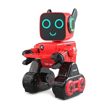 JJRC R4 Multifunctional Voice-activated Intelligent RC Robot White Red Color For Children Kids Gifts