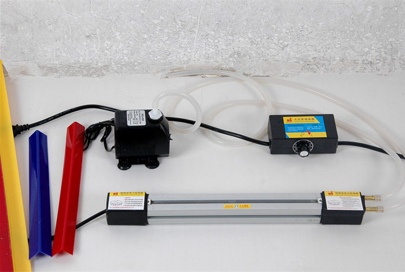 ФОТО 4set 23''(60cm)Acrylic Hot-bending Machine Plexiglass PVC Plastic board Bending Device Advertising signs and light box