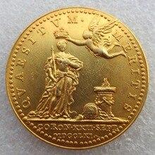 England Medal 1761 Grande Bretagne Couronnement Charlotte De Mecklemburg High Quality Copy Coins