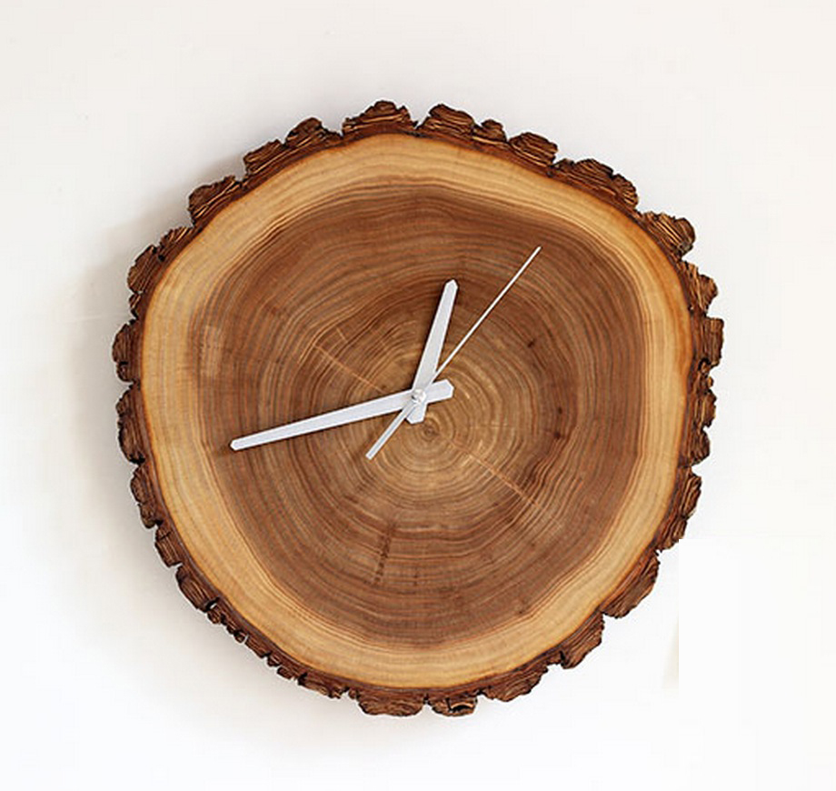 Clock 11inch 13 inches wall clock natural wood wall clock decor pinjeas clock 11inch 13 inches wall clock natural wood wall clock decor and housewares christmas gift amipublicfo Image collections
