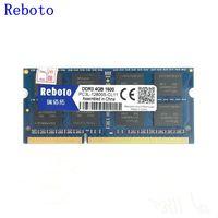 Reboto Memory RAM 8GB 4GB 1600MHz DDR DDR3L Memory Voltage 1 35V Memoria DRAM For Laptop