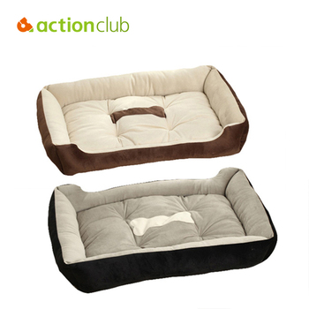 Actionclub 6 Sizes House Pets Beds Plus Size Dogs Fashion Soft Dog House High Quality PP Cotton Pet Beds For Large Pets Cats