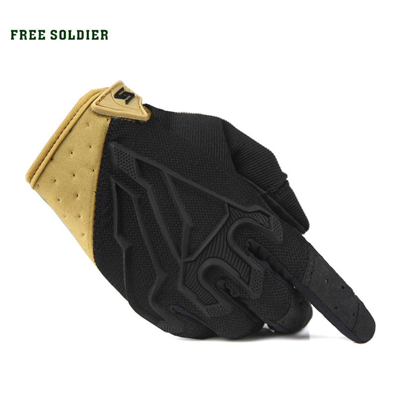 FREE SOLDIER Traveling Tactical Full-finger Sports Gloves Thin Riding Gloves Of Lightweight Design