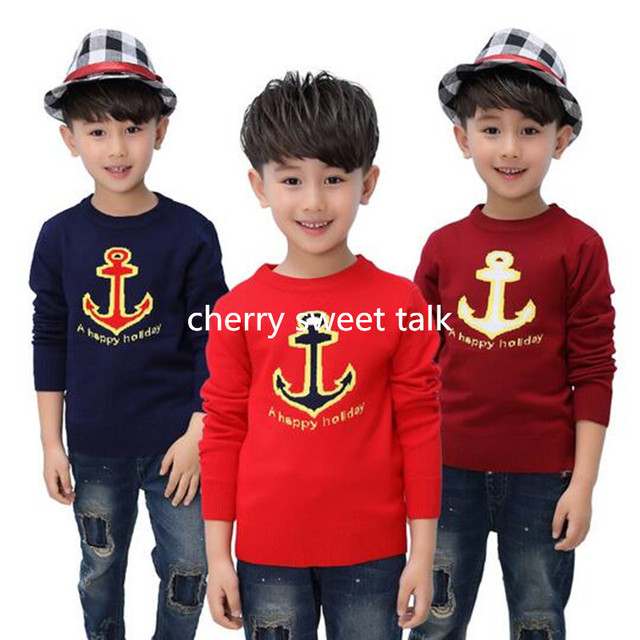 Hot selling candy color sweater children hedge quality of boy and girl's sweater knitted children's sweater sweater for boys