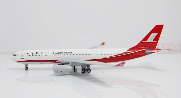 Aeroclassics Shanghai Airlines B-6545 1:400 A330-200 commercial jetliners plane model hobby phoenix 10596 a330 200 b 6538 chinese eastern airlines skyteam no 1 400 commercial jetliners plane model hobby