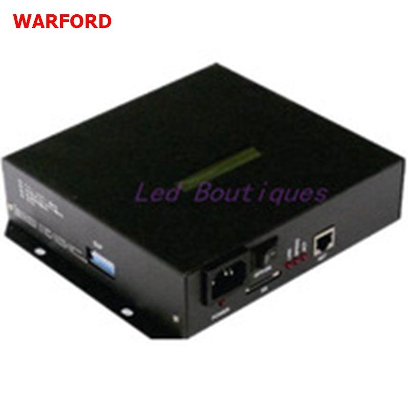 T100K Led rgb Pixel contrôleur DMX Contrôleur Programme Pour WS2812 WS2811 1809 6803 WS2801 led Bande 8 ports * 512 pixels, 4096 pixels